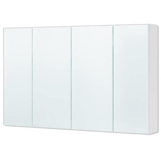 Szafka łazienkowa wisząca z lustrem DALLAS 95 biała 0408-530124 Aquaform