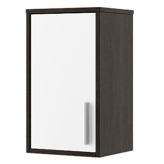 Szafka łazienkowa wisząca RIO górna legno ciemne/biały 0410-411601 Aquaform