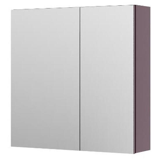 Szafka łazienkowa wisząca z lustrem AMSTERDAM 60 fiolet 0408-202811 Aquaform