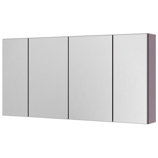 Szafka łazienkowa wisząca z lustrem AMSTERDAM 120 fiolet 0408-202812 Aquaform