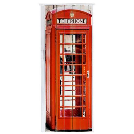Drzwi harmonijkowe ST4 BUDKA ANGIELSKA 83cm Standom