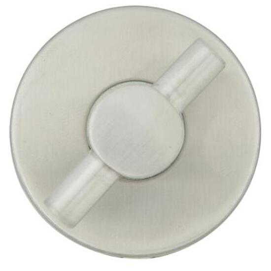 Szyld drzwiowy okrągły EF 100 WC stal nierdzewna TUPAI