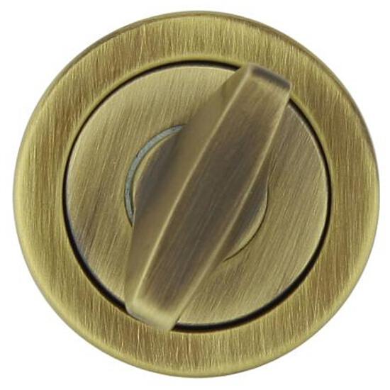 Szyld drzwiowy okrągły 780 WC brąz grafiatto TUPAI