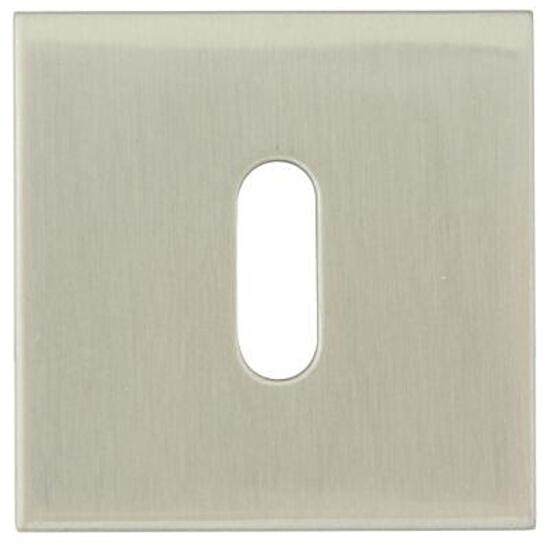 Szyld drzwiowy kwadratowy EF KWADRAT-QR klucz stal nierdzewna TUPAI