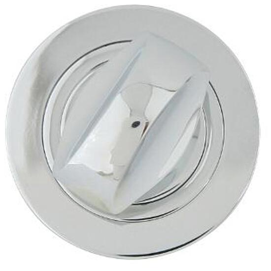 Szyld drzwiowy okrągły 980 WC chrom lakierowany Domino