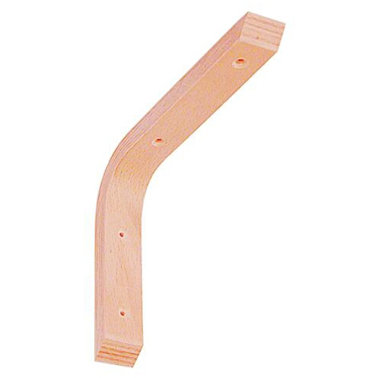 Wspornik drewniany gięty WDG300 250x300mm Domax
