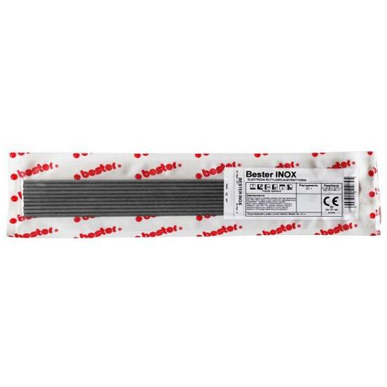 Elektroda nierdzewna INOX 3,2x350mm 10szt Bester