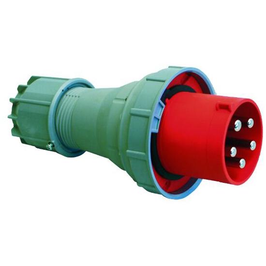 Wtyczka siłowa odbiornikowa przenośna IP67 63A 400V 3P+Z+N PCE