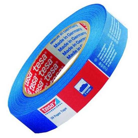 Taśma maskująca 19mmx50m na zewnątrz niebieska Tesa Tape