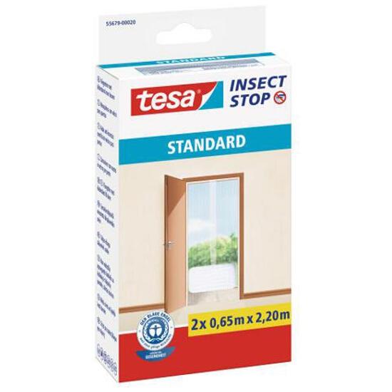 Moskitiera Standard przeciw owadom 2x0,65x2,20m biała Tesa Tape