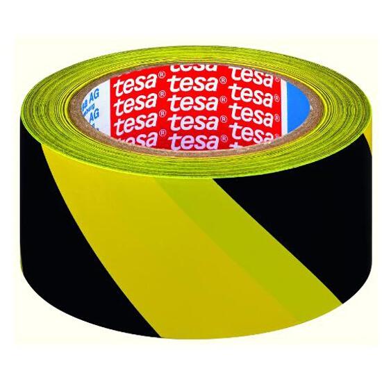 Taśma bezpieczeństwa 50mmx33m żółto/czarna Tesa Tape