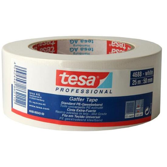 Taśma naprawcza 50mmx25m biała Tesa Tape