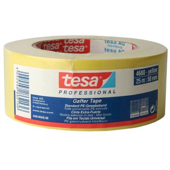 Taśma naprawcza 50mmx25m żółta Tesa Tape