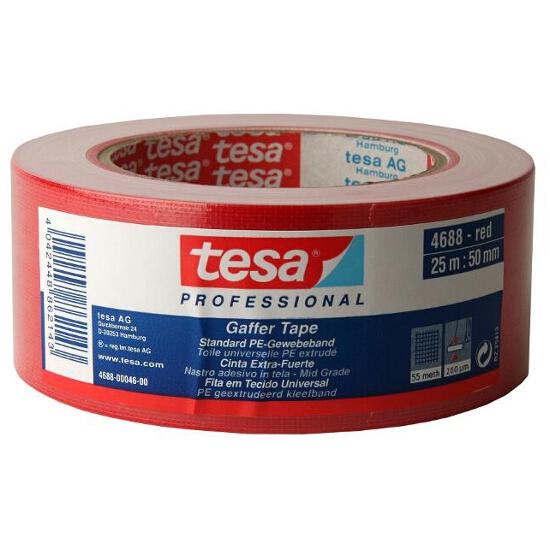 Taśma naprawcza 50mmx25m czerwona Tesa Tape
