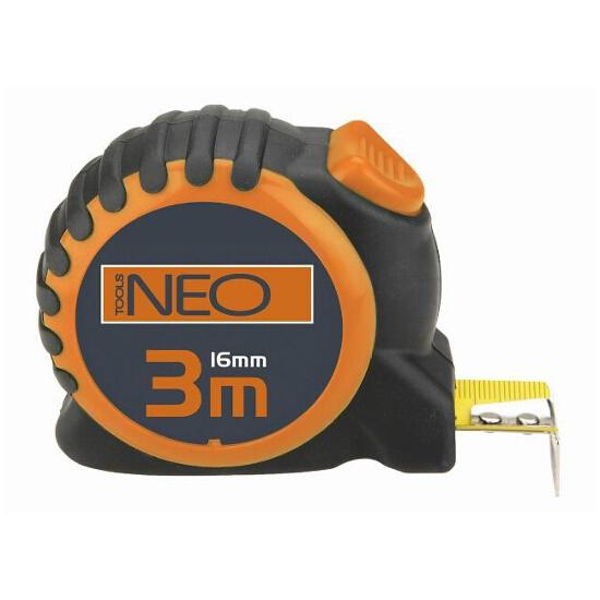 Miara zwijana stalowa 3m z blokadą selflock 67-163 Neo