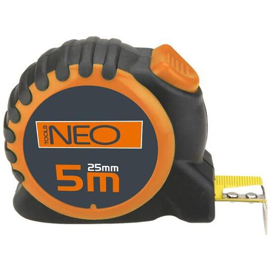 Miara zwijana stalowa 5m z blokadą selflock 67-165 Neo