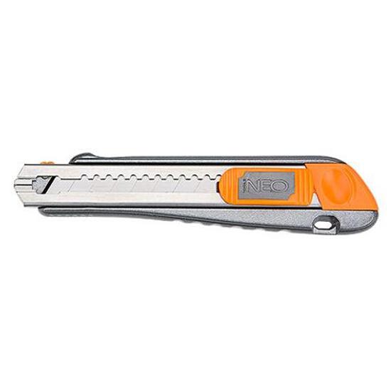 Nóż z ostrzami łamanymi 18mm 63-021 Neo