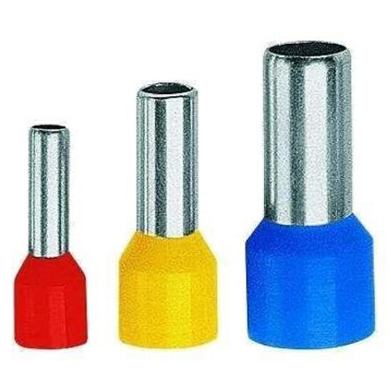 Końcówka kablowa igiełkowa tulejkowa izolowana TE 1-6-K05 100szt biały kablowa Erko