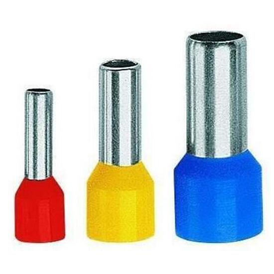 Końcówka kablowa igiełkowa tulejkowa izolowana TE 0,25-6 100szt kablowa Erko