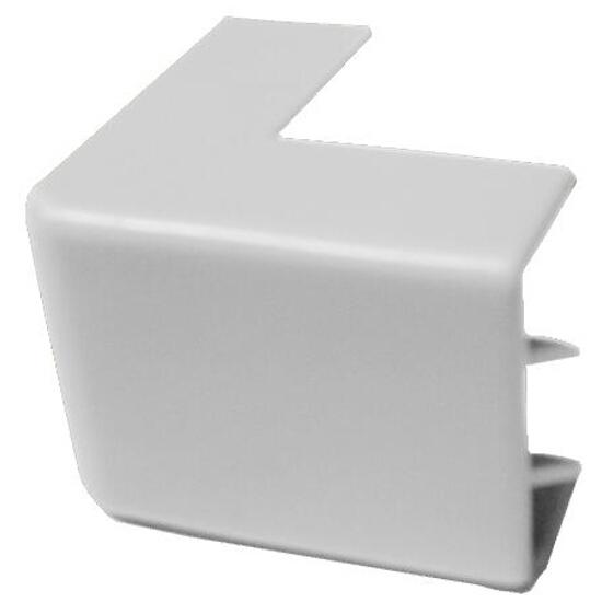 Narożnik do kanałów kablowych zewnętrzny NZ 40/90 biały AKS Zielonka
