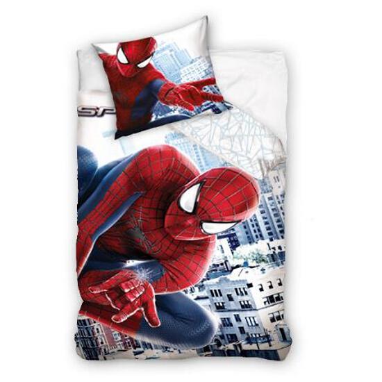 """Pościel licencyjna Spiderman """"The Amazing"""" 160x200+70x80 Carbotex"""