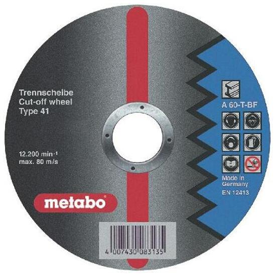 Tarcza tnąca Flexiamant super A 46-T 125x1,6x22,2mm do stali Metabo
