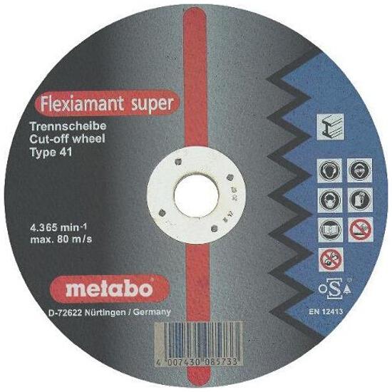 Tarcza tnąca Flexiamant super A 24-M 350x3x25,4mm do stali Metabo