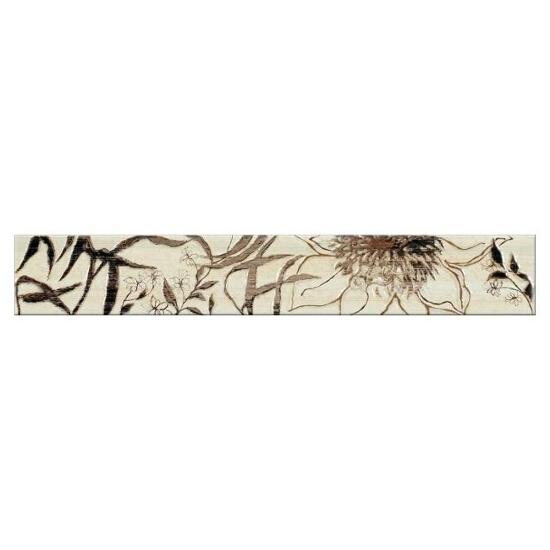 Płytka ścienna Aleksandria krem flower 45x7