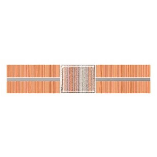 Płytka ścienna Organic orange techno 25x5