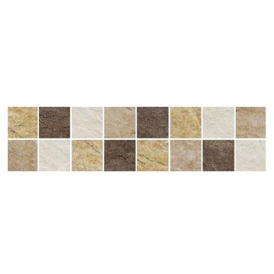 Listwa gresowa Naxos beż mosaic 39,6x9,8