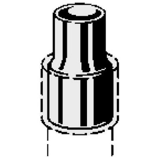 95243 Nypel CU redukcyjny 28Ax22mm Viega