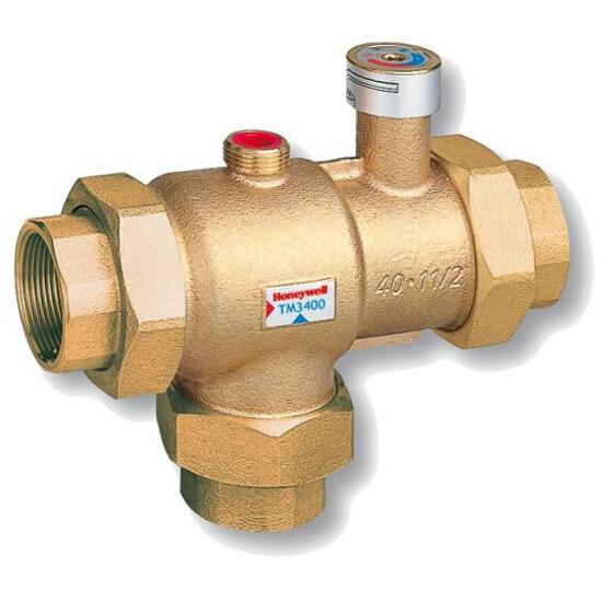 Zawór termostatyczny do c.w.u. DN32 zakres reg. 30°-45°C nastawa fabr. 40°C TM3400.942 Honeywell