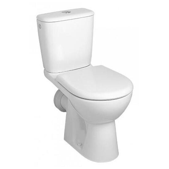 Miska WC stojąca kompaktowa NOVA TOP lejowa pr. biała 63200000 Koło