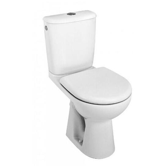 Miska WC stojąca kompaktowa NOVA TOP PICO lejowa biała 63202000 Koło