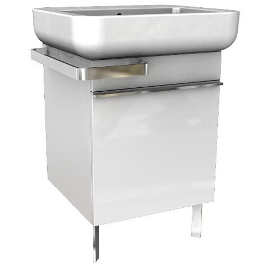 Szafka podumywalkowa OVUM/EGO z szufladą 48x55x48cm biały połysk 89229000 Koło