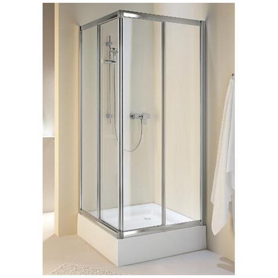 Kabina prysznicowa kwadratowa AKORD 90x90cm szkło hartowane, półmat RKDK90222005 Koło
