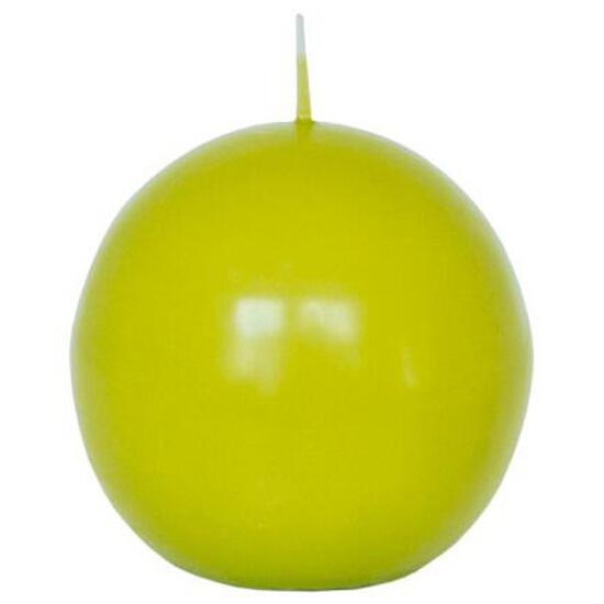 Świeca kula 95mm kolor majowa zieleń Muller