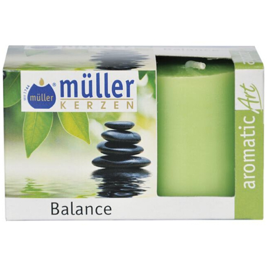 Świeca zapachowa walec kpl 2szt balans Muller