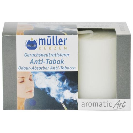 Świeca zapachowa walec kpl 2szt antytabak Muller
