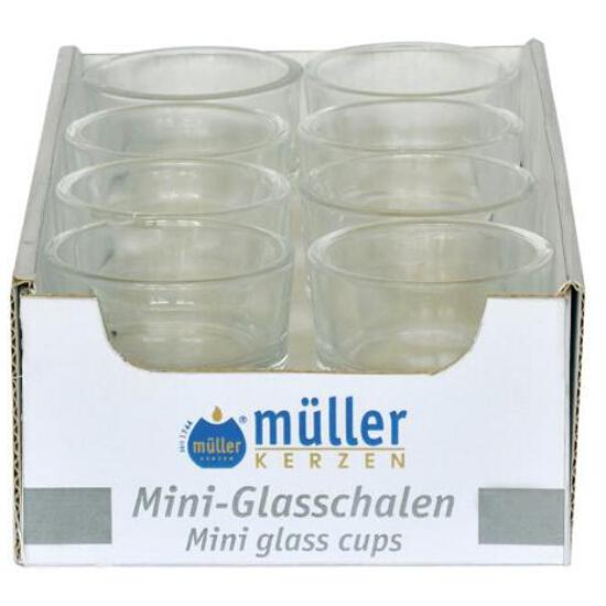 Mini szkiełko do podgrzewacza bezbarwne Muller