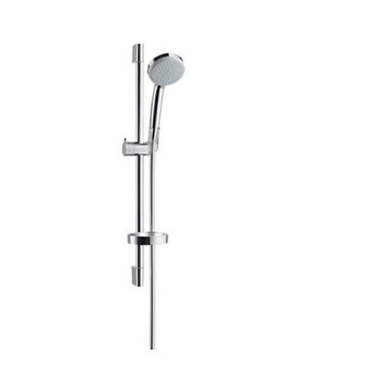 Zestaw prysznicowy Croma 100 Vario EcoSmart/Unica'C 0,65 m chrom 27776000 Hansgrohe