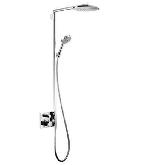 Zestaw prysznicowy Raindance 240 z baterią podtynkową ramię 460 mm chrom 27145000 Hansgrohe