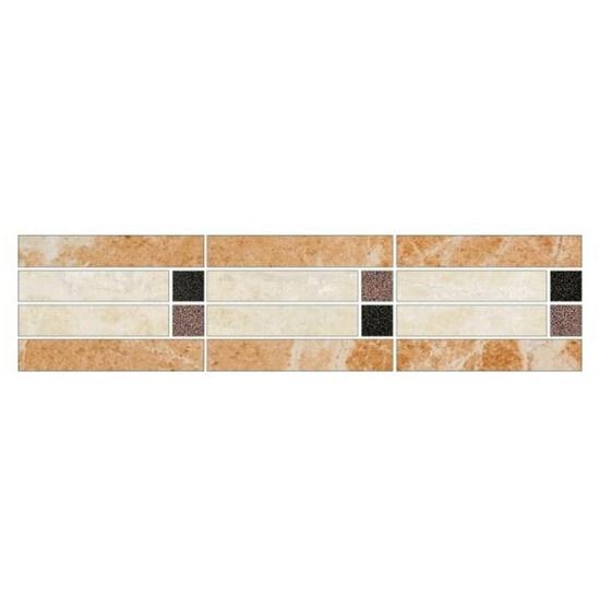 Listwa gresowa Royal krem mosaic 39,6x9,6
