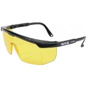 Okulary ochronne żółte typ 9844 YT-7362 Yato
