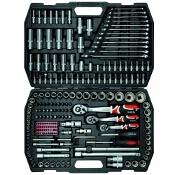 """Zestaw narzędziowy 216 części 1/4"""", 3/8"""", 1/2"""" YT-3884 Yato"""