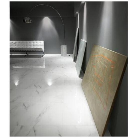 Płytka ścienna profil Carrara white 59,3x5