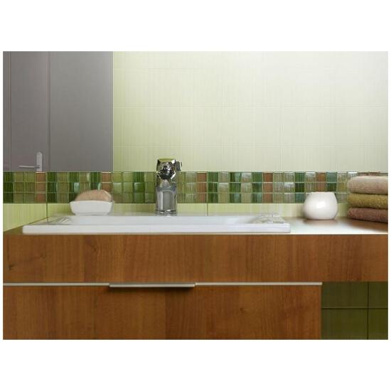 Płytka ścienna Calipso zielona mosaic 45x2,8