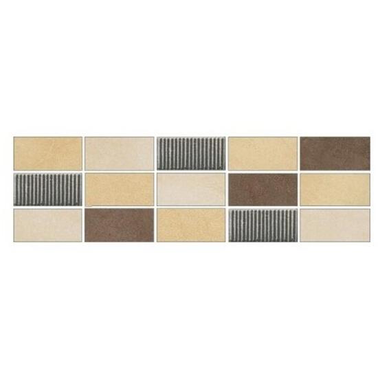 Listwa gresowa Arenisca krem mosaic 29,7x8,8