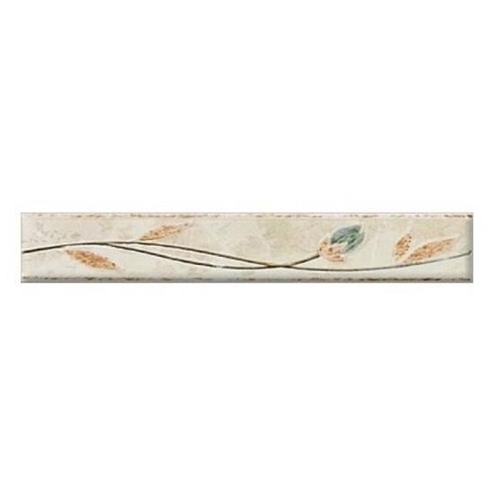 Płytka ścienna friza krem 25x4,2 Aspazja
