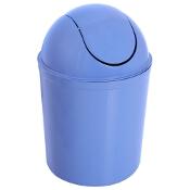 Kosz na śmieci Swing okrągły 5L niebieski Plast Team